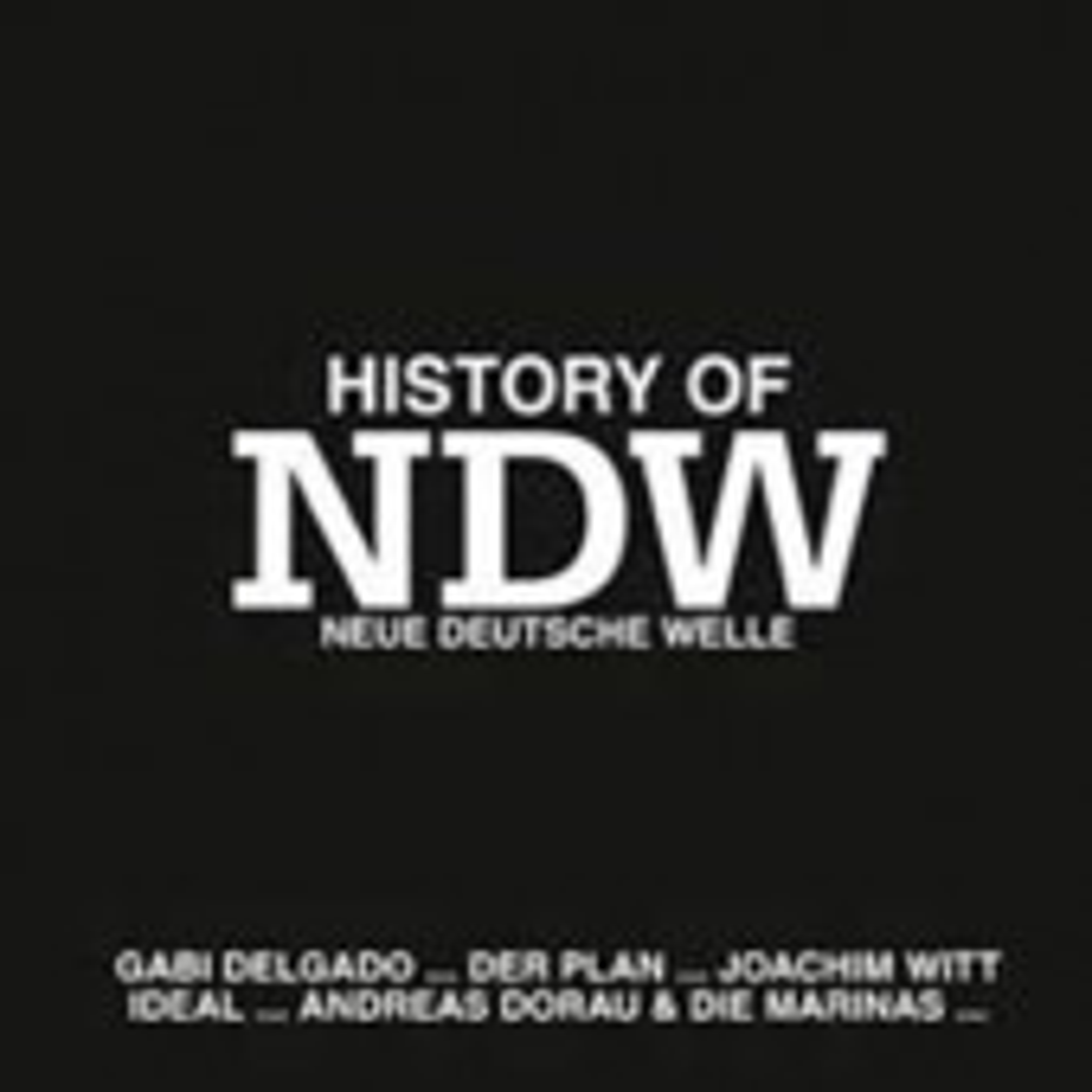 V.A. - History of NDW (Neue Deutsche Welle) - CD